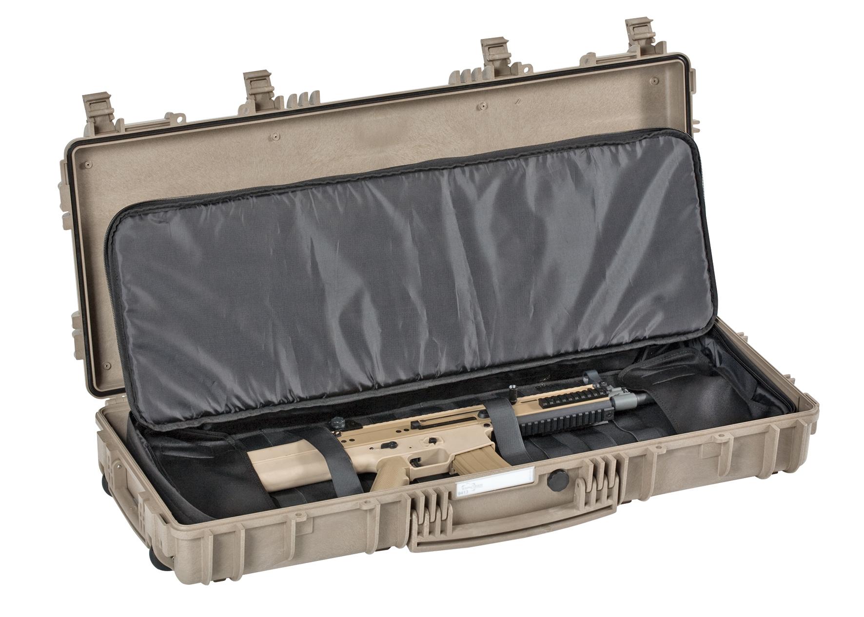 malette pour fusil explorer transport d 39 armes. Black Bedroom Furniture Sets. Home Design Ideas